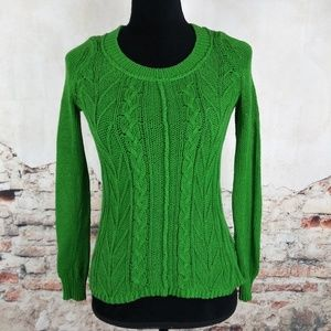 Anthropologie Sparrow S Green Howth Sweater